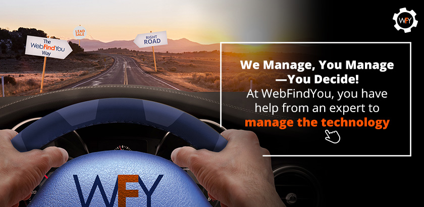 At WebFindYou, You Have Help From an Expert to Manage the Technology